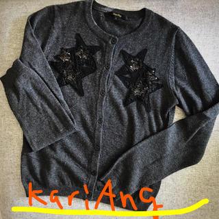 カリアング(kariang)のカリアング 刺繍スパンコールカーディガン(カーディガン)