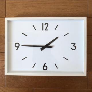 ムジルシリョウヒン(MUJI (無印良品))の駅の時計 ウォールクロック(掛時計/柱時計)