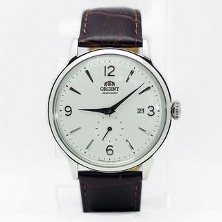 オリエント(ORIENT)のオリエント クラシック 小秒針 腕時計メンズ(ホワイト系)(腕時計(アナログ))