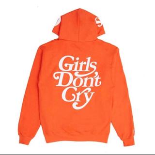 シュプリーム(Supreme)のXL Girl's don't cry  carrots hoodie パーカー(パーカー)