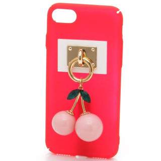 liLlilly cherry iPhoneケース