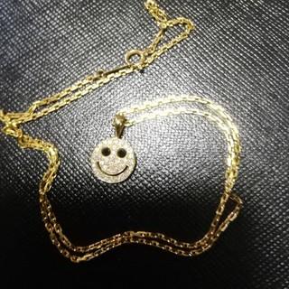アイファニー(EYEFUNNY)のアイファニー スマイル ダイヤモンド K18 ネックレス 18K sjx(ネックレス)
