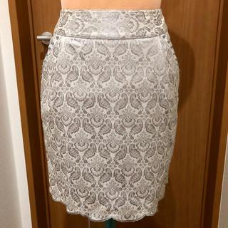 マリリンムーン(MARILYN MOON)の値下げしました‼️バーニーズニューヨーク スカート S(ひざ丈スカート)