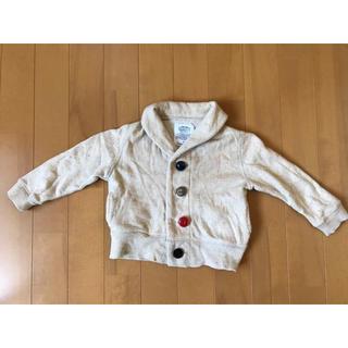 マーキーズ(MARKEY'S)のベビー 上着 ジャケット カーディガン 80サイズ(ジャケット/コート)