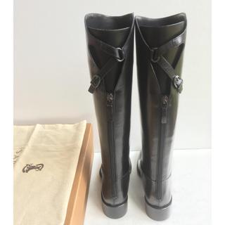 サルトル(SARTORE)の未使用 36.5 SARTORE シングルベルト ロングブーツ 黒(ブーツ)