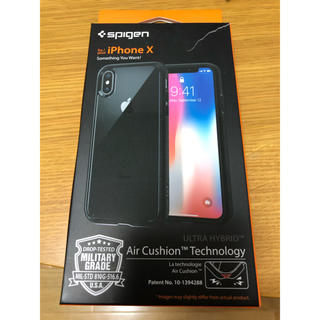 シュピゲン(Spigen)のSpigen iPhone X用ケース(iPhoneケース)