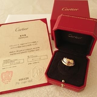 カルティエ(Cartier)のカルティエ トリニティ マストエッセンス スリーゴールド リング 54(リング(指輪))