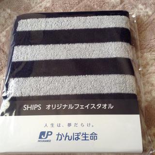 シップス(SHIPS)のSHIPS  オリジナルフェイスタオル(タオル/バス用品)