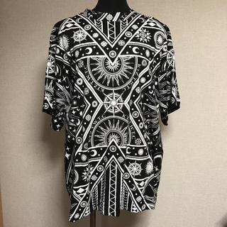 ココントーザイ(Kokon to zai (KTZ))のKTZスペース柄Tシャツ(Tシャツ(半袖/袖なし))