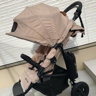 エアバギー(AIRBUGGY)の⭐️ mikiyaさま専用⭐️Air buggy coco ブレーキ  ベージュ(ベビーカー/バギー)