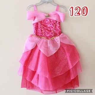 オーロラヒメ(オーロラ姫)のディズニーストア オーロラ姫 コスチューム キッズ 仮装 120 ドレス(ドレス/フォーマル)
