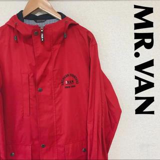 ヴァンヂャケット(VAN Jacket)の古着 MR.VAN ヴァン マウンテンパーカー ロゴ柄 1016(マウンテンパーカー)