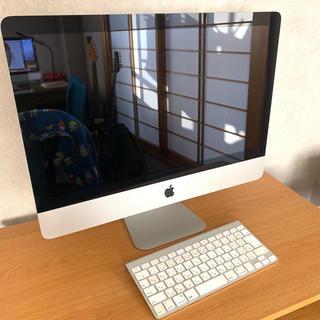 マック(Mac (Apple))のiMac 21.5inch mid 2010 500GB DVDドライブ付き(デスクトップ型PC)