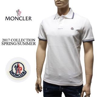 モンクレール(MONCLER)の8MONCLER 16ss 半袖 ポロシャツ ホワイト size S(ポロシャツ)