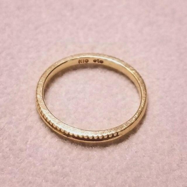 ete(エテ)のeteピンキーリング レディースのアクセサリー(リング(指輪))の商品写真