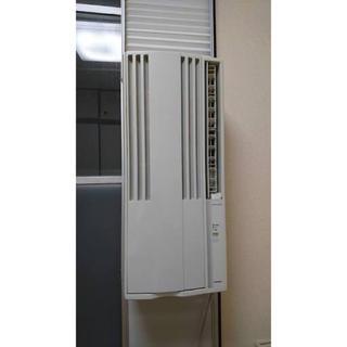 コロナ(コロナ)のCORONA PURE WIND ウィンドエアコン コロナ 窓用 美品(エアコン)