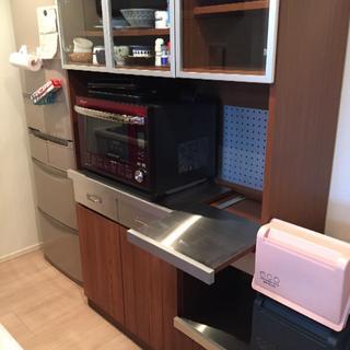 ウニコ(unico)のSTRADA(ストラーダ) キッチンボード W1200 オープンタイプ(収納/キッチン雑貨)