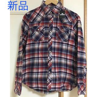 期間限定セール 新品TMT チェックシャツ