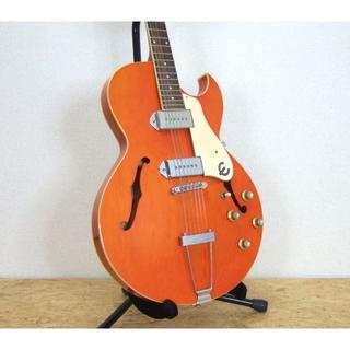 エピフォン(Epiphone)のEpiphone SORRENTO OR ソレント オレンジ(エレキギター)
