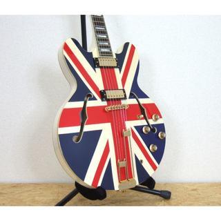 エピフォン(Epiphone)のEpiphone Union Jack Sheraton シェラトン(エレキギター)