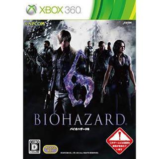 エックスボックス360(Xbox360)のxbox360 バイオハザード6 中古(家庭用ゲームソフト)