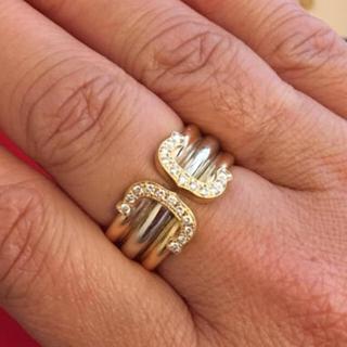 カルティエリング、18金、k18.純金、指輪(リング(指輪))