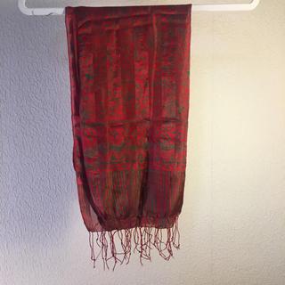 アンティックバティック(Antik batik)のシルクスカーフ(スカーフ)