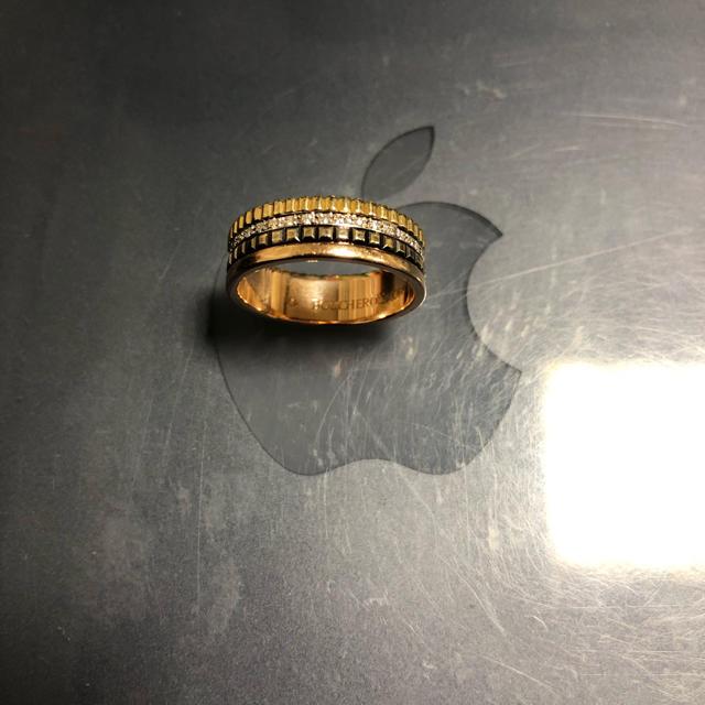BOUCHERON(ブシュロン)の最終出品 ブシュロン キャトルクラシック T58 ダイヤ入り 只今値引き中 メンズのアクセサリー(リング(指輪))の商品写真