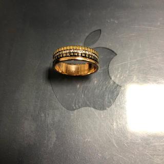 ブシュロン(BOUCHERON)の最終出品 ブシュロン キャトルクラシック T58 ダイヤ入り 只今値引き中(リング(指輪))