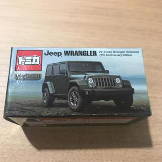 ジープ(Jeep)のjeep ラングラートミカ 非売品(ミニカー)