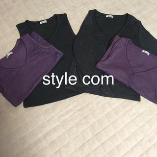 スタイルコム(Style com)の東京スタイル アンサンブル 二色セット(アンサンブル)