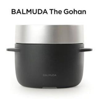 バルミューダ(BALMUDA)のバルミューダ 3合炊き 電気炊飯器 K03A-BK ブラック(炊飯器)