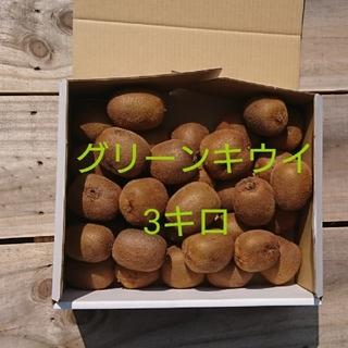 ルディこ様専用 訳あり!広島県大崎下島産 無農薬グリーンキウイ 3キロ(フルーツ)