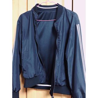 シマムラ(しまむら)の黒ジャケット(ノーカラージャケット)
