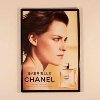 CHANEL シャネル インテリアポスター A4フレーム付き C1084(ポスターフレーム )