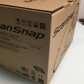 フジツウ(富士通)の富士通 FI-IX500A ScanSnap(新品・未使用品)(PC周辺機器)