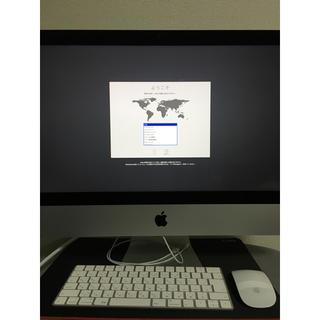 マック(Mac (Apple))のiMac 2017 21.5-inch(デスクトップ型PC)