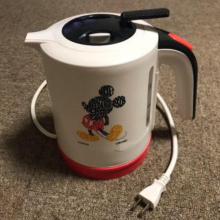 ディズニー(Disney)のディズニー ミッキー電気ケトル(電気ケトル)