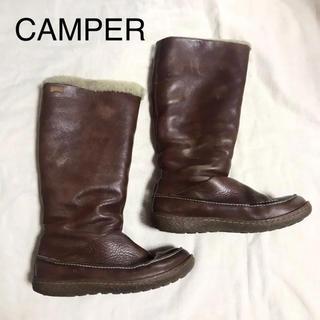 カンペール(CAMPER)のCAMPER ボア ブーツ 36(ブーツ)