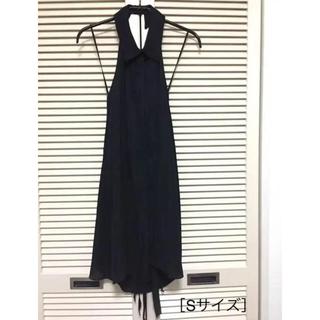 シーニューヨーク(Sea New York)の☆お値下げ☆ Sea New York ホルターネックドレス(ブラック)(ひざ丈ワンピース)