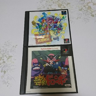 プレイステーション(PlayStation)のプレイステーション ソフト2本セット トルネコ2&ボカンと一発(家庭用ゲームソフト)