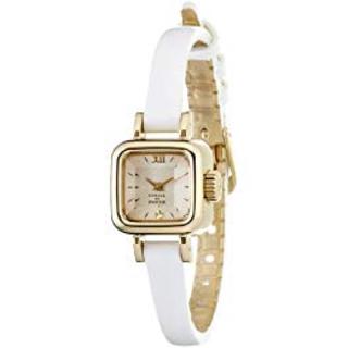 カバンドズッカ(CABANE de ZUCCa)のズッカ 腕時計 キャラメル ホワイト 白(腕時計)