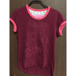 カレンウォーカー(KAREN WALKER)のKAREN WALKER Tシャツ (エンジ)(Tシャツ(半袖/袖なし))