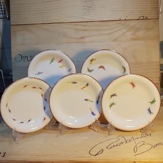 コウランシャ(香蘭社)の香蘭社 銘々皿 14.5 ㎝ アタッシュケース付き(食器)