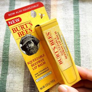 バーツビーズ(BURT'S BEES)の新品未使用!BURT'S BEES(バーツビーズ) リップバーム(並行輸入品)(リップケア/リップクリーム)