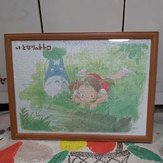 となりのトトロ ジグソーパズル完成品 メイ・クリーン 57×42㎝(版画)