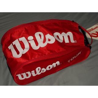 ウィルソン(wilson)のウィルソン シューズバッグ未使用 送料込み(バッグ)
