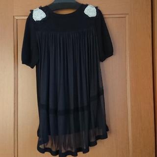 カオン(Kaon)の美品 kaon トップス(カットソー(半袖/袖なし))