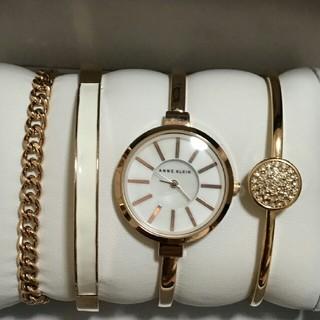 アンクライン(ANNE KLEIN)の大好きブランド❤ Anne Klein(アンクライン)腕時計3点セット (腕時計)