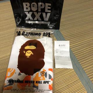 A BATHING APE - ape BAPE tee tシャツ xxv 福岡 fukuoka 限定 パーカー